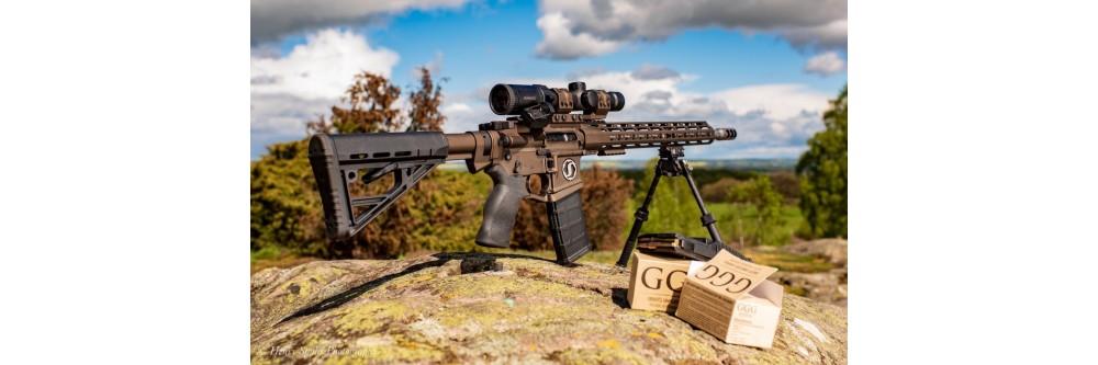 Munitions de tir armes longues